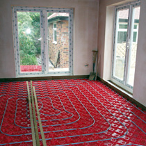 Heat Your House Efficiently With An Underfloor Heating System